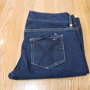 Hilfiger Premium dark wash jeans no size tag
